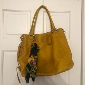 Yellow Prada Bag